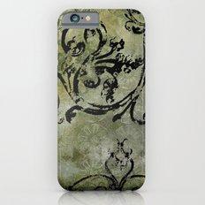 Green Patterns Slim Case iPhone 6s