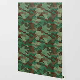 Forest camoflauge pattern Wallpaper