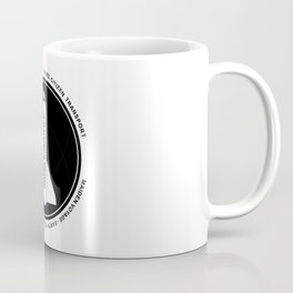 Musk Industries Space Badge Coffee Mug