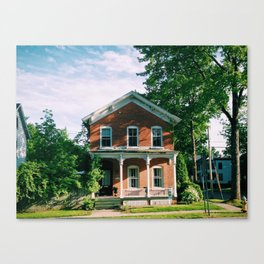 Saratoga Springs, NY Canvas Print
