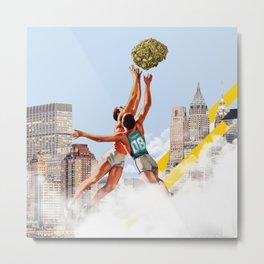 Basket Nugs Metal Print