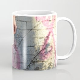 Graffiti Dress - Pink City Brick Vintage Style Fashion Girl Coffee Mug