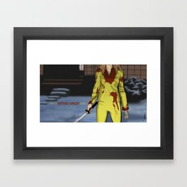 """Kill Bill"" Framed Art Print"