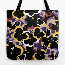 Pansy Love Tote Bag