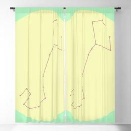 SCORPIO (PASTEL DESIGN) Blackout Curtain