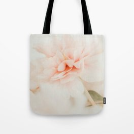 Burnt Orange Peony Tote Bag