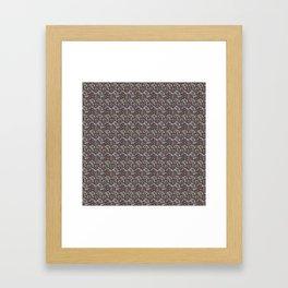 Cubed Butterfly Framed Art Print