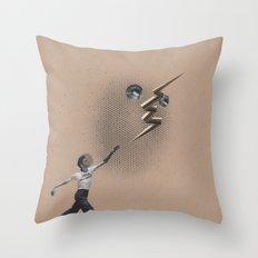 indyu Throw Pillow