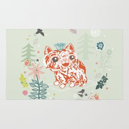 forest babe Rug