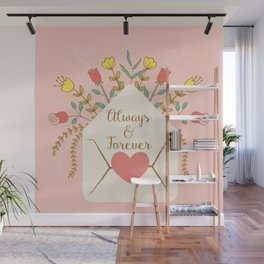 Send with Love Wall Mural