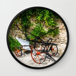 Historic Agricultural Plow Wall Clock
