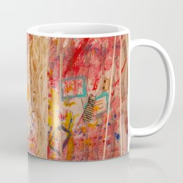 The Red Wall Coffee Mug