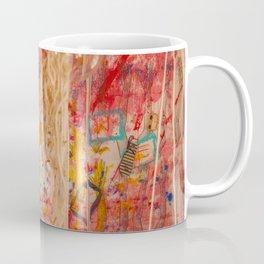 The Red Wall Coffee Mug