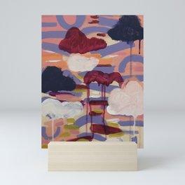 It takes Courage to Rise Mini Art Print
