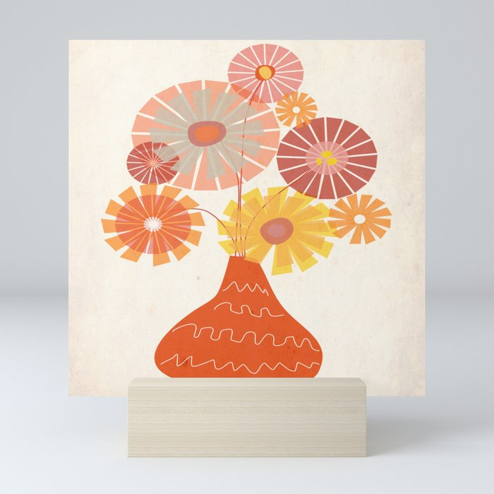 Passion Bunch Mini Art Print