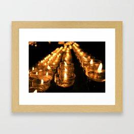 I Pray Framed Art Print