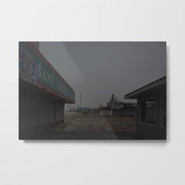 The Boardwalk, After Sandy Metal Print