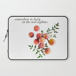 Call Me By Your Name - Inscription Laptop Sleeve