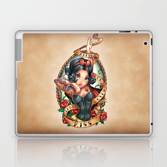 Waiting For Loves True Kiss Laptop & iPad Skin
