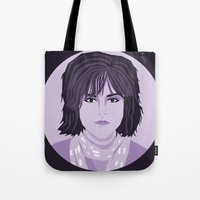 breakfast club Tote Bags featuring The Breakfast Club - Allison by Priscila Floriano