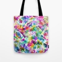 paradise Tote Bags featuring Paradise by Schatzi Brown