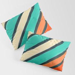 Coloured Stripes Pillow Sham