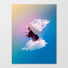 Take a deep breath Canvas Print