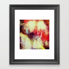 Burning Time Framed Art Print