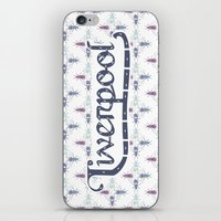 liverpool iPhone & iPod Skins featuring Liverpool  by Cory Wilcox