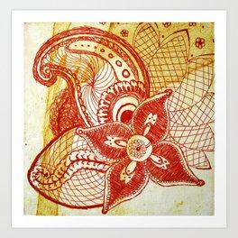 Rare Bloom Art Print