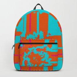 """""""Glitch"""" series #2 Backpack"""