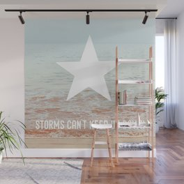 Lone Star Storm Wall Mural