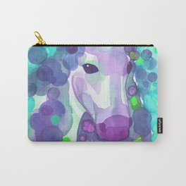 Enchanted Forest Unicorn - Turquoise Palette  Carry-All Pouch