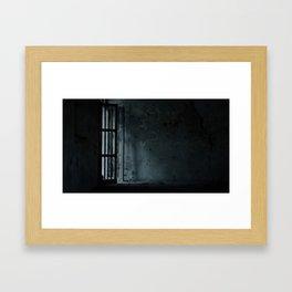 Eerie Asylum (Color) Framed Art Print