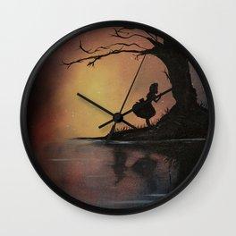 Alice's Adventures in Wonderland by Lewis Carroll Wall Clock