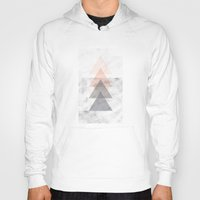 triangles Hoodies featuring Triangles by Indiepeek