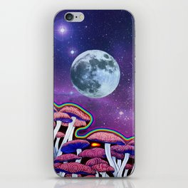 Moon Mushrooms iPhone Skin