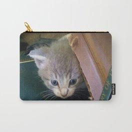 Peeking Kitten Carry-All Pouch