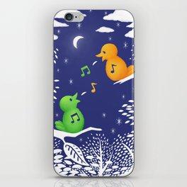 Heart Song iPhone Skin