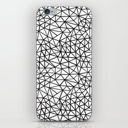 Shattered R iPhone Skin