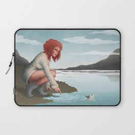 Paper boat Laptop Sleeve