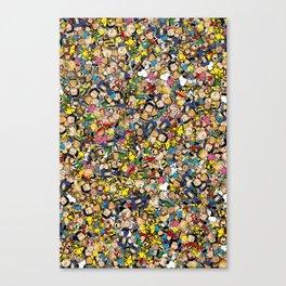 Peanuts Characters Canvas Print