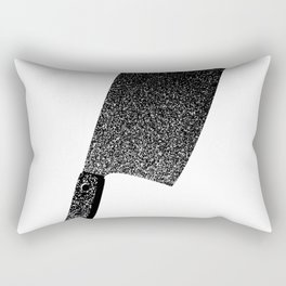 Meat cleaver of love Rectangular Pillow