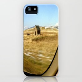 Snap Shot Out The Car Window iPhone Case