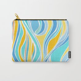 Beach Day Abstract Carry-All Pouch