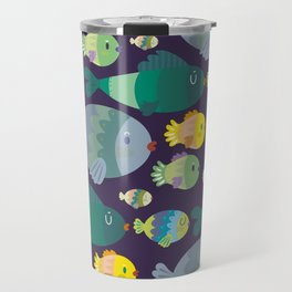 Fish pattern Travel Mug