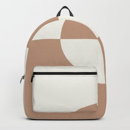 Sand Storm Beige Off White Circle Design 2 Behr 2021 Color of the Year Canyon Dusk Polar Bear Backpack
