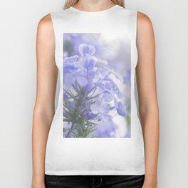 Lilac Lavender Hydrangea Flower Floral Pastel Soft Fine Art Colored Wall Art Print Biker Tank