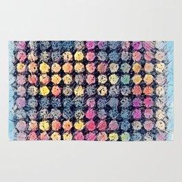 Sketchy Dots Rug
