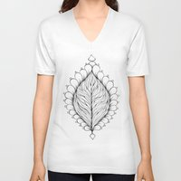 morocco V-neck T-shirts featuring Morocco Ornaments by Chris Pioli